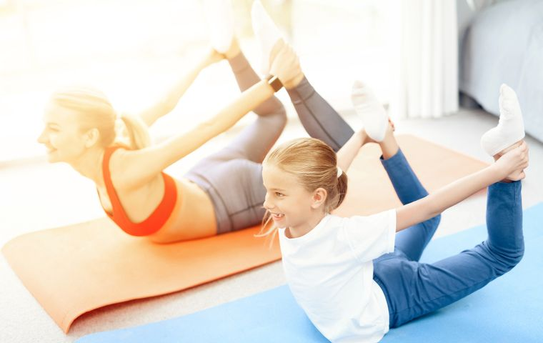Fun Yoga Poses for Parents and Kids