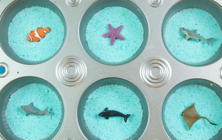 DIY: Easy Surprise Muffin Tin Bath Bombs