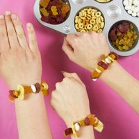Healthy Snack Bracelet Craft