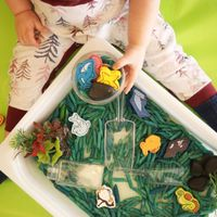 Under The Sea DIY Sensory Bin