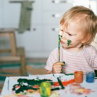 Easy & Unique Painting Ideas For Babies And Toddlers